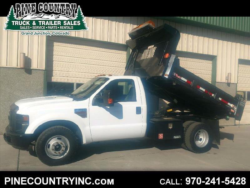 2010 Ford F-350 SD SUPER DUTY REG CAB DUMP