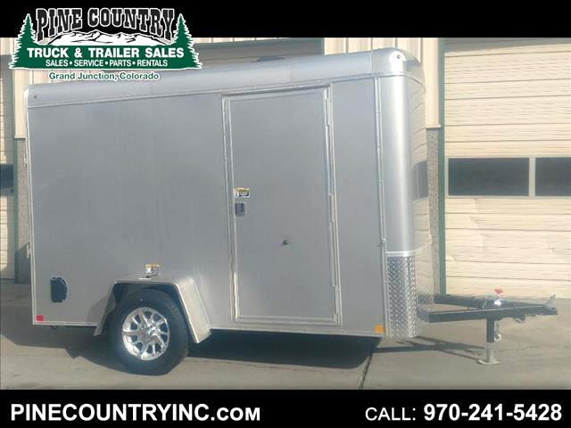 2019 H&H H7210SRT-035 6x10 Ramp Door Enclosed Traile