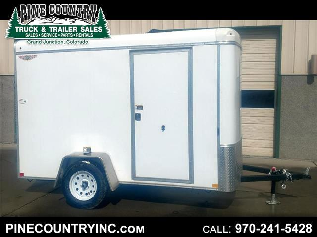 2019 H&H H7210SRT-035 6x10 Enclosed RampDoor Trailer