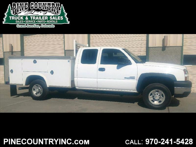 2007 Chevrolet Silverado 2500 HEAVY DUTY EXT LONG