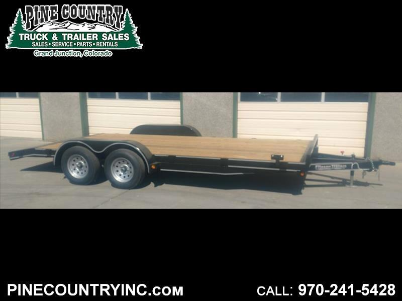 2018 Friesen CHX78318 83x18 7K Car Hauler Trailer