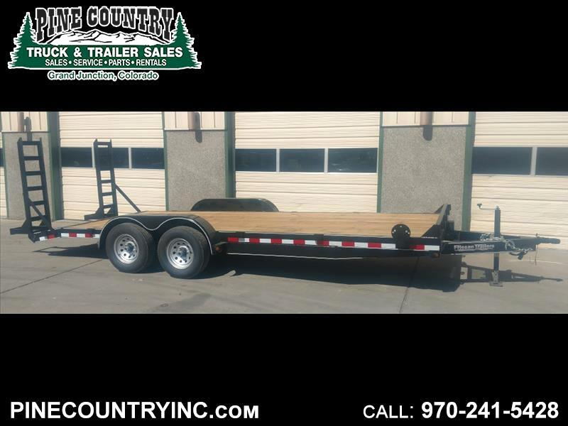 2018 Friesen EQX108320 83x20 10K Equipment Trailer
