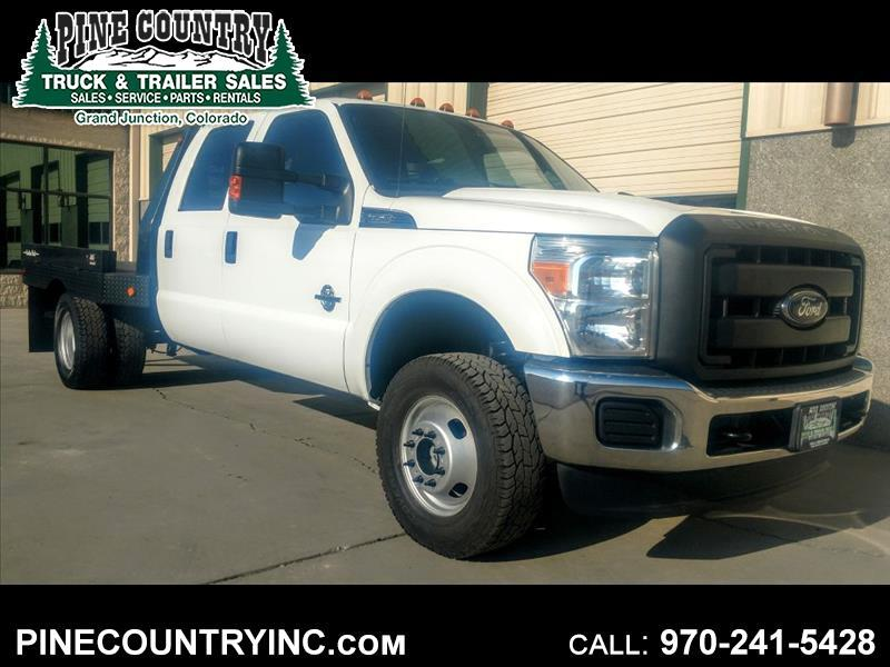 2012 Ford F-350 SD SUPER DUTY CREW FLAT