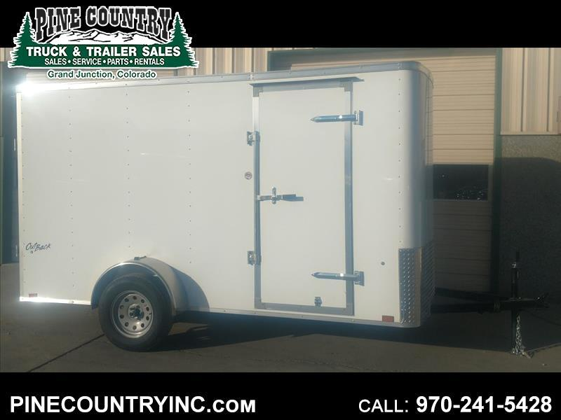 2019 Pace OB612SI2 6x12 Ramp Door Cargo Trailer