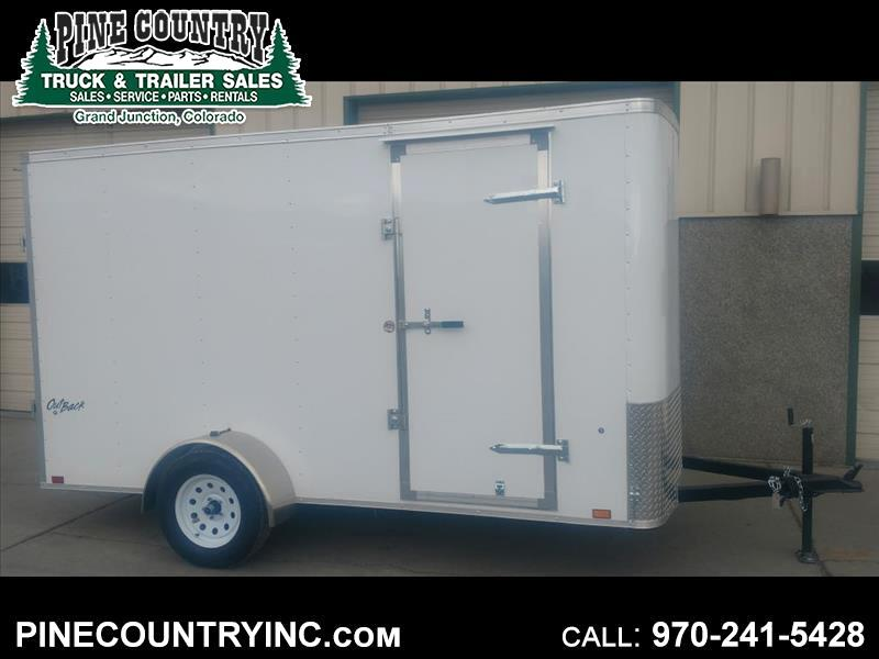 2019 Pace OB612SI2 Pace 6x12 Ramp Door Trailer