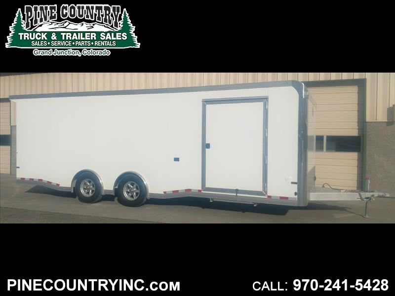 2019 Sundowner RCS24BP Aluminum Race Trailer 8.5x24