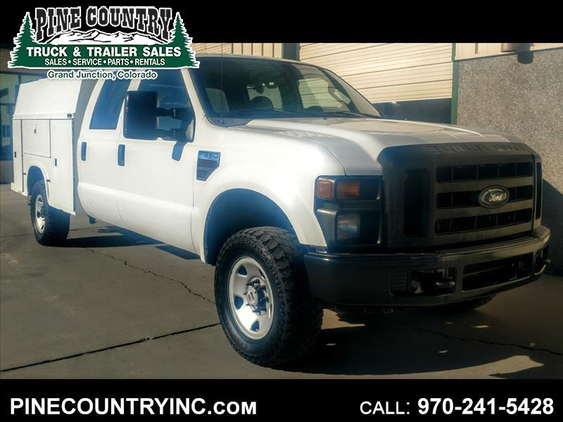 2008 Ford F-350 SD SRW SUPER DUTY CREW UTILITY