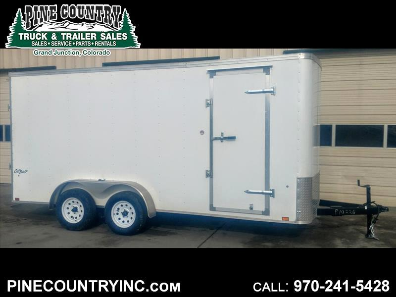 2019 Pace OB7X16TE2 7x16 7K Ramp Door Trailer