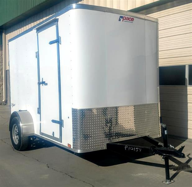 2019 Pace OB6X10SI2 6x10 Ramp Door Cargo Trailer