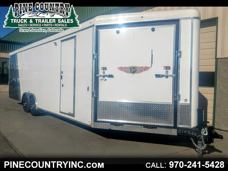 2019 H&H H10126COSN-100 26 Ft Enclosed Dual Sport 10K