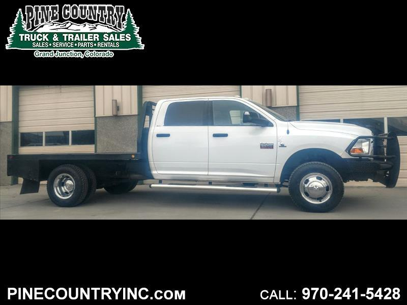 2011 Dodge Ram 3500 SLT CREW DUALLY FLATBED