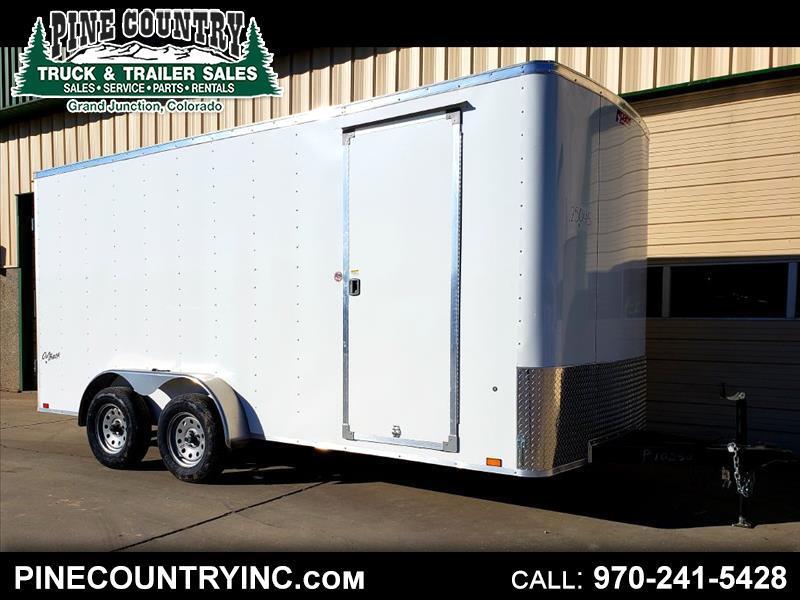 2020 Pace OB7X16TE2 7x16 Cargo Door 7K Trailer