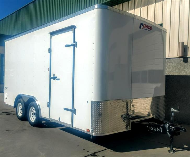 2020 Pace OB85X16TE2 8 1/2x16 7K Ramp Door Trailer