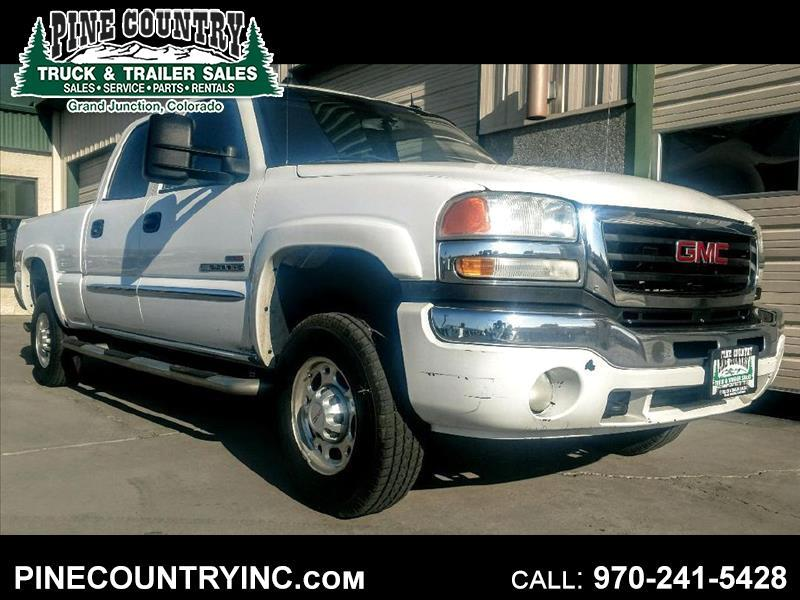 2005 GMC Sierra 2500 HEAVY DUTY CREW