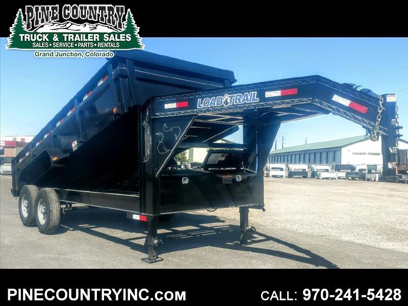 2020 Load Trail GD162 83X16 GOOSE DUMP 14K