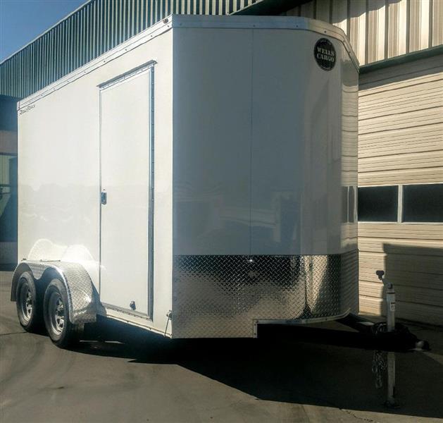 2019 Wells Cargo RFV712T2 7X12 RAMP EX12 VNOSE 7K