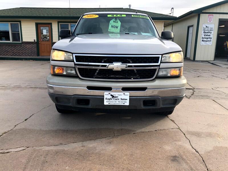 2007 Chevrolet Silverado 1500 4WD Crew Cab 143.5