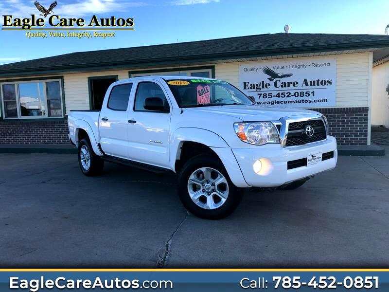 2011 Toyota Tacoma SR5 Double Cab 5' Bed V6 4x4 AT (Natl)