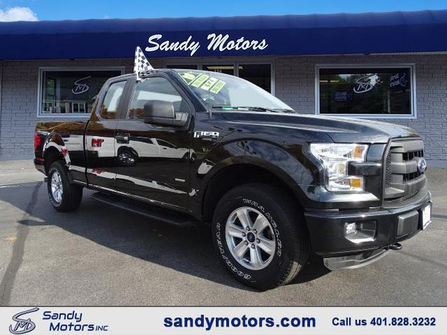 2015 Ford 150 XLT SuperCab 8-ft. Bed 4WD