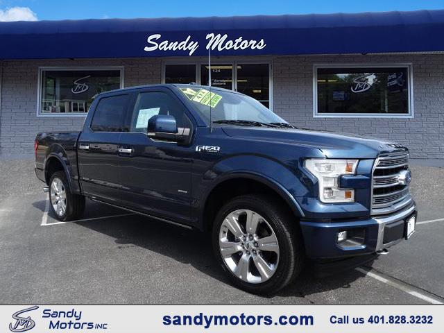 2017 Ford F-150 SuperCrew limited 4WD supercrew 5.5' Box