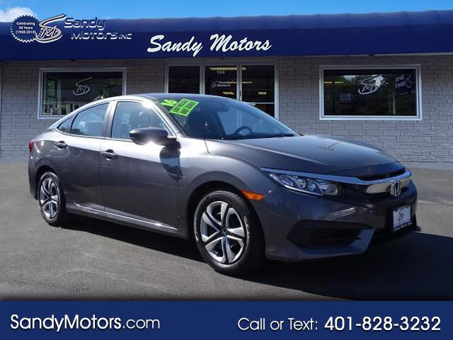 2016 Honda Civic Sedan LX Sedan CVT