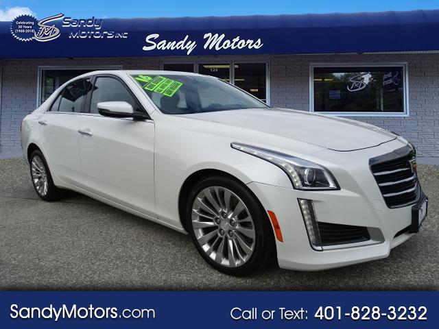 2016 Cadillac CTS Sedan 4dr Sdn 3.6L Luxury Collection AWD