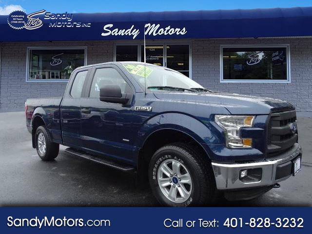 2016 Ford 150 XL SuperCab 8-ft. Bed 4WD