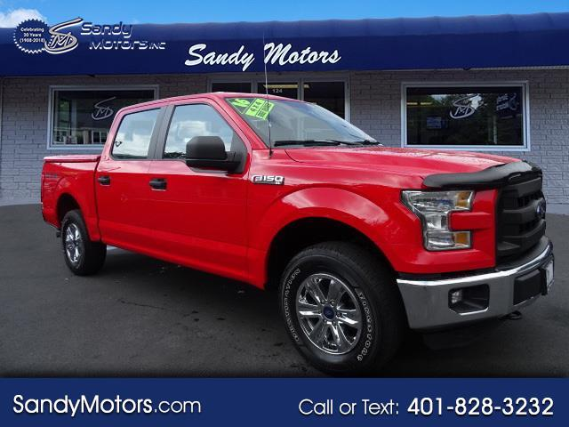 2016 Ford 150 XL SuperCrew 5.5-ft. Bed 4WD