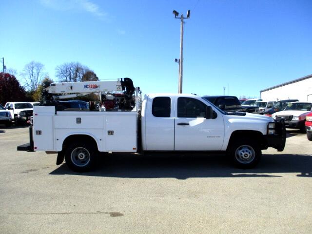 2011 Chevrolet Silverado 3500HD Work Truck Ext. Cab Long Box 4WD