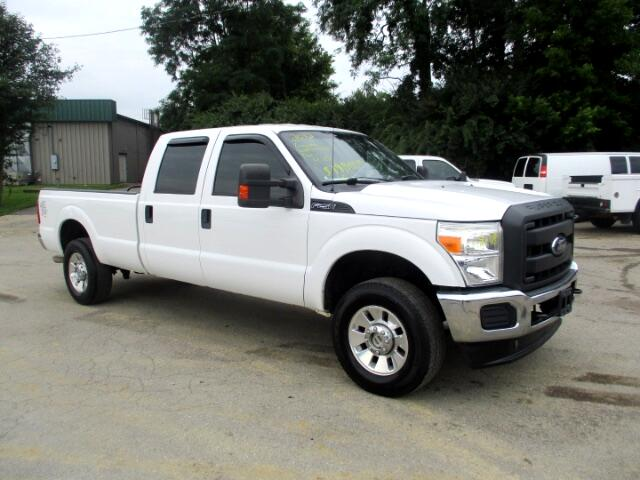 2012 Ford F-250 SD XL Crew Cab Long Bed 4WD