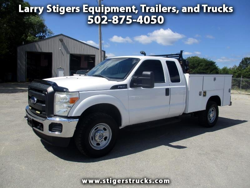Ford F-350 SD XL SuperCab 4WD 2013
