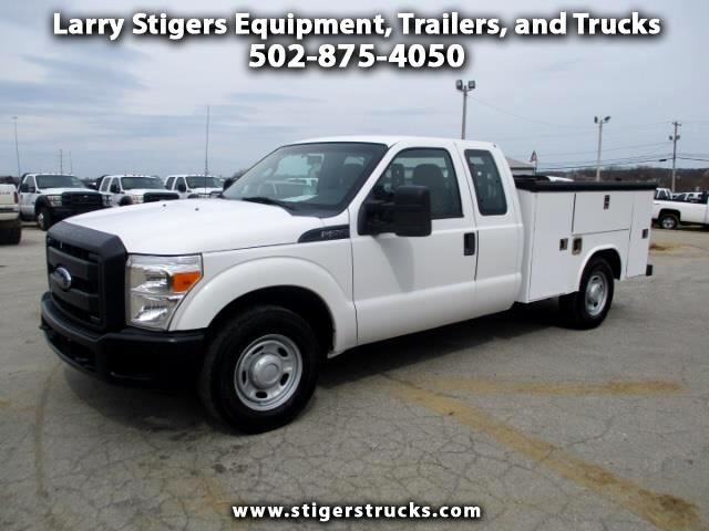 Ford F-250 SD XL SuperCab Long Bed 2WD 2011