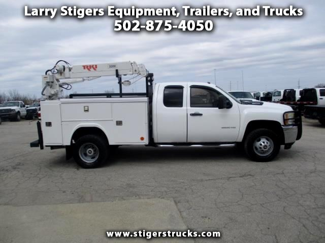 Chevrolet Silverado 3500HD Work Truck Ext. Cab Long Box 4WD 2011