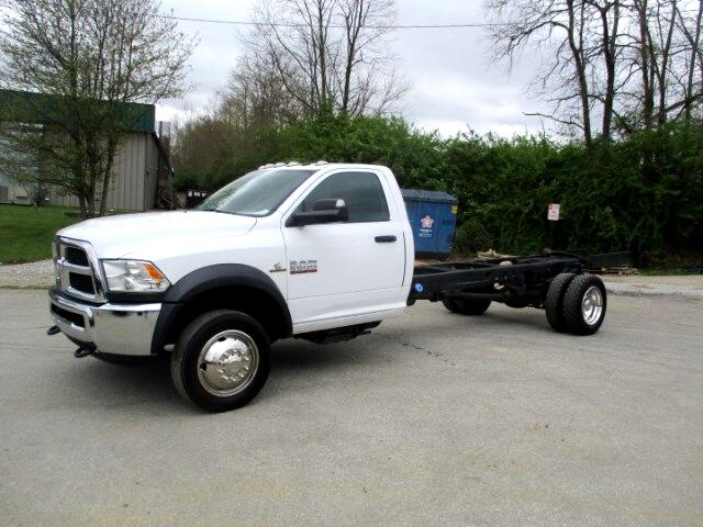 2016 Dodge Ram 5500 Regular Cab 2WD