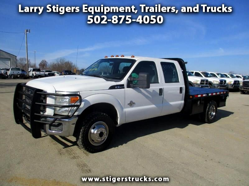 Ford F-350 SD XL Crew Cab Long Bed 4WD DRW 2011