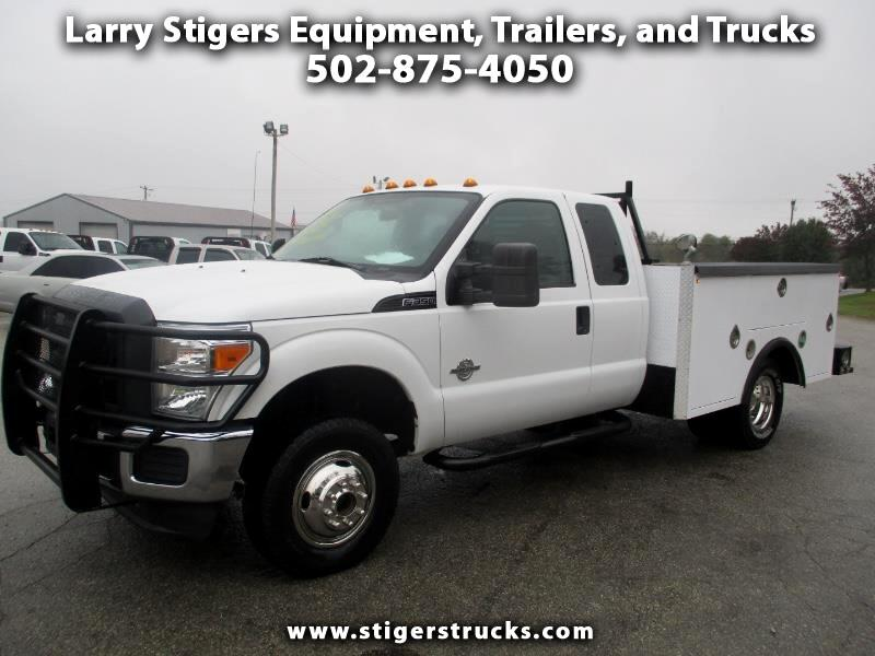 Ford F-350 SD XL SuperCab Long Bed 4WD DRW 2012
