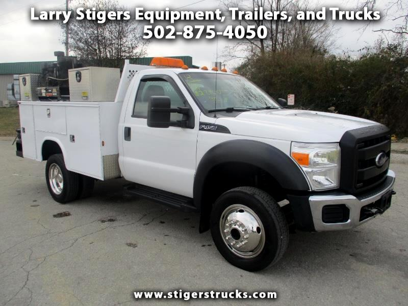 Ford F-450 SD Regular Cab DRW 4WD 2012