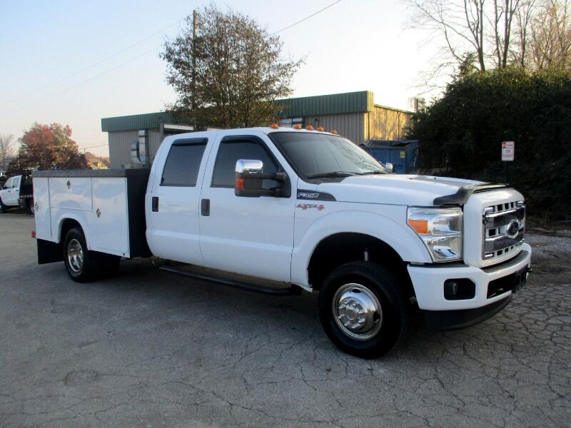 2012 Ford F-350 SD XLT Crew Cab Long Bed DRW 4WD