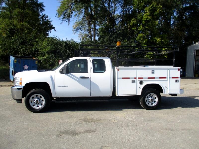 2012 Chevrolet Silverado 3500HD Work Truck Ext. Cab Long Box 4WD