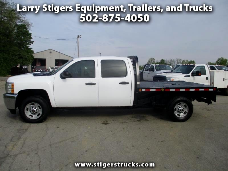 Chevrolet Silverado 2500HD Work Truck Crew Cab Long Box 4WD 2012