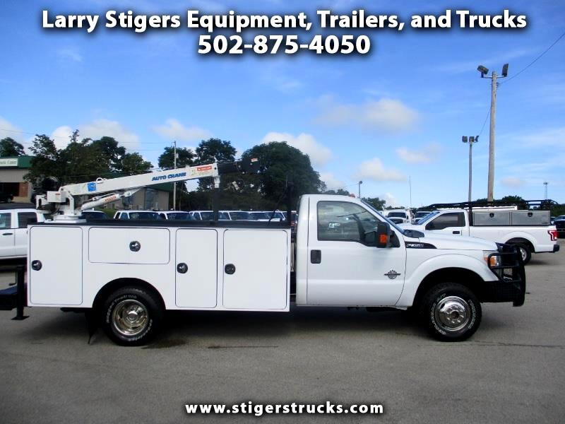 Ford F-350 SD XLT SuperCab DRW 4WD 2011