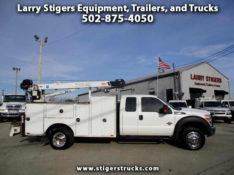 Ford F-450 SD SuperCab 2WD DRW 2013