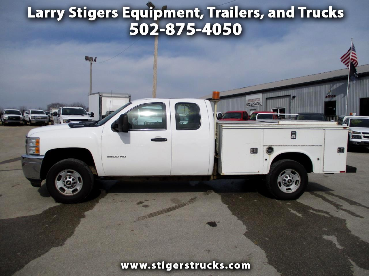 Chevrolet Silverado 2500HD Ext. Cab Long Bed 4WD 2013
