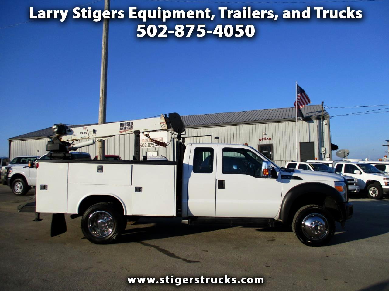 Ford F-450 SD SuperCab 4WD DRW 2013