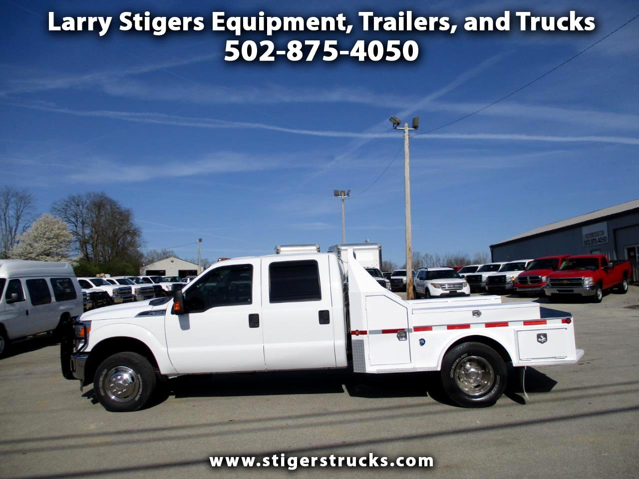 Ford F-350 SD XLT Crew Cab Long Bed 4WD DRW 2012