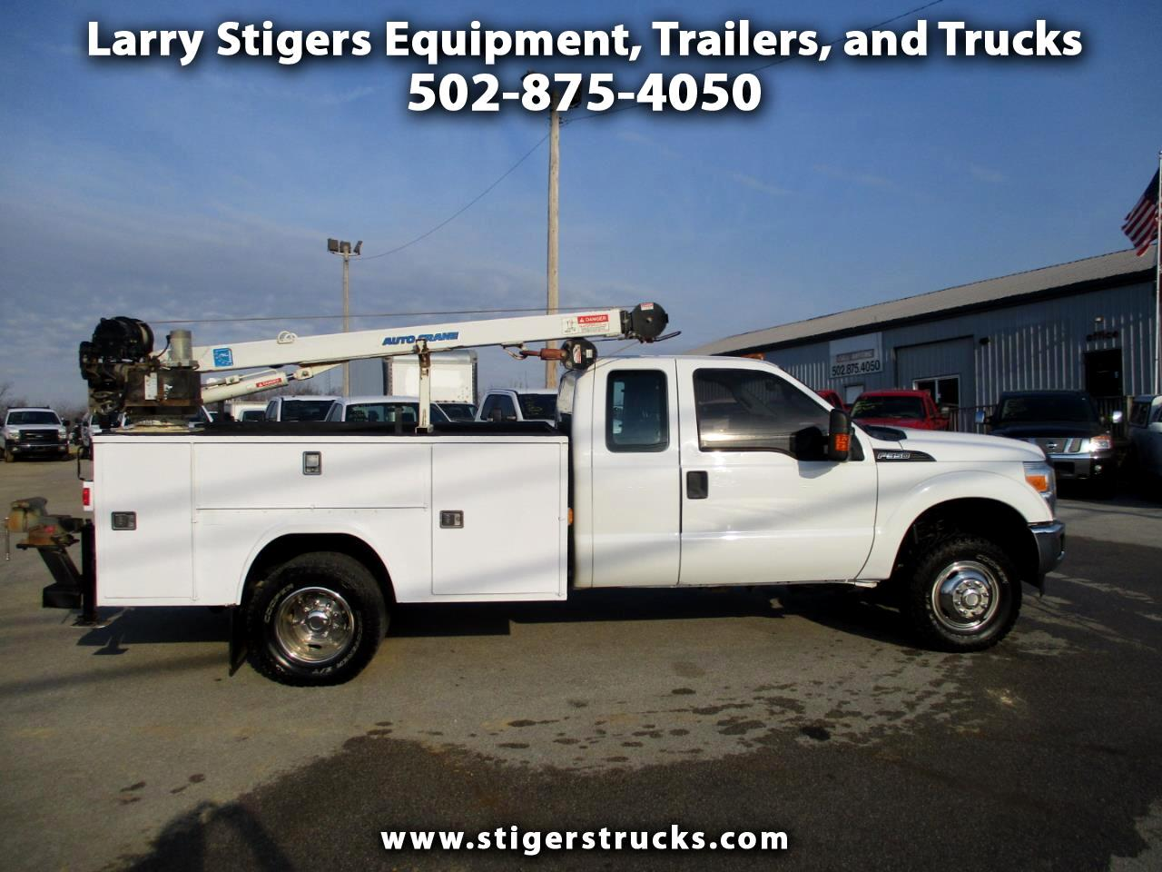 Ford F-350 SD XL SuperCab Long Bed DRW 4WD 2015