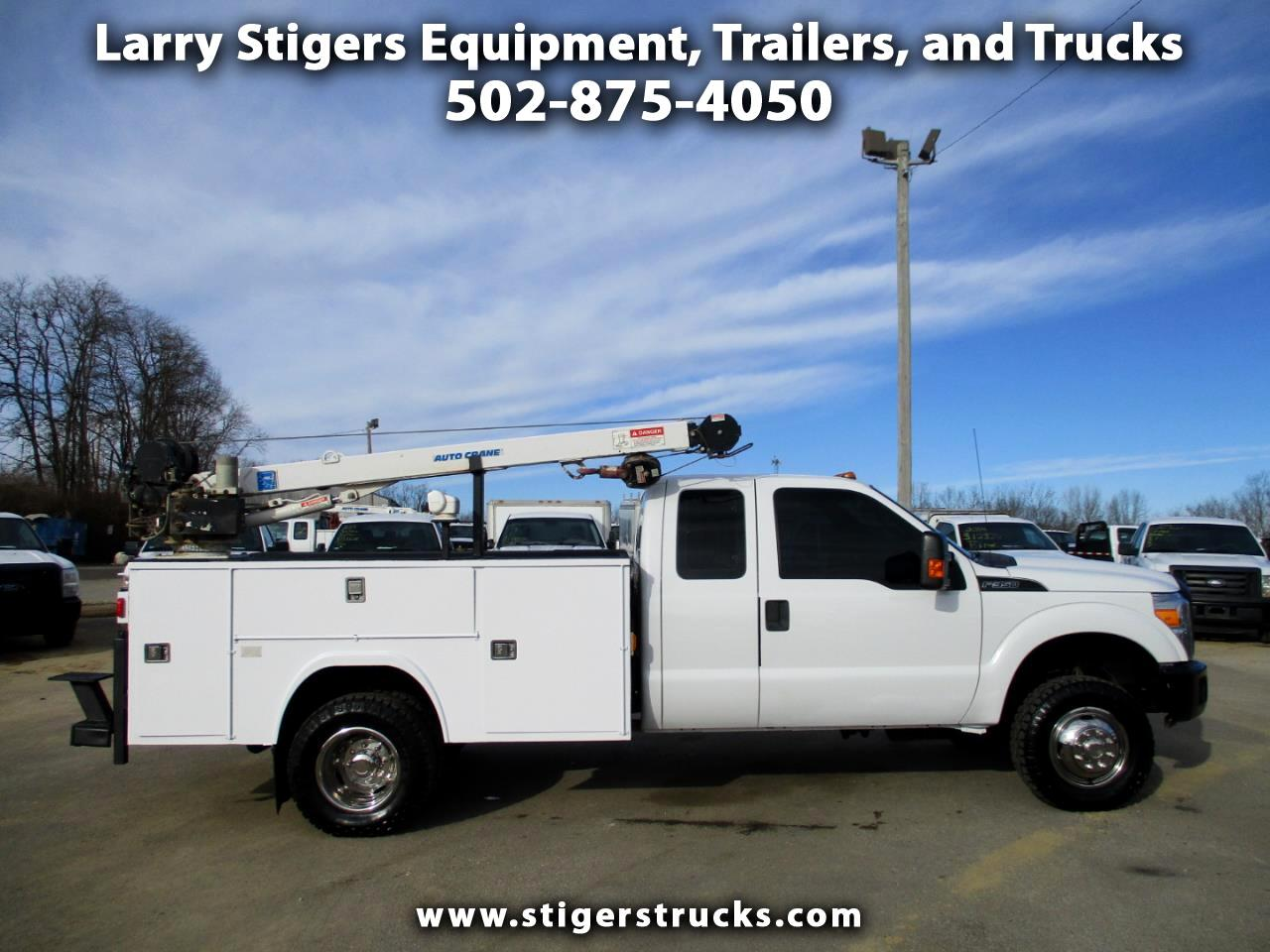 Ford F-350 SD XL SuperCab Long Bed 4WD DRW 2015