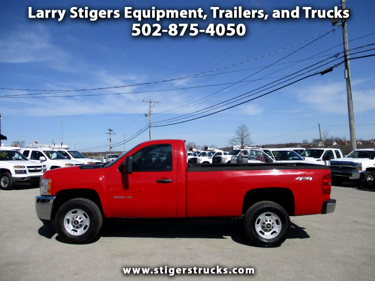 Chevrolet Silverado 2500HD Work Truck Long Box 4WD 2013