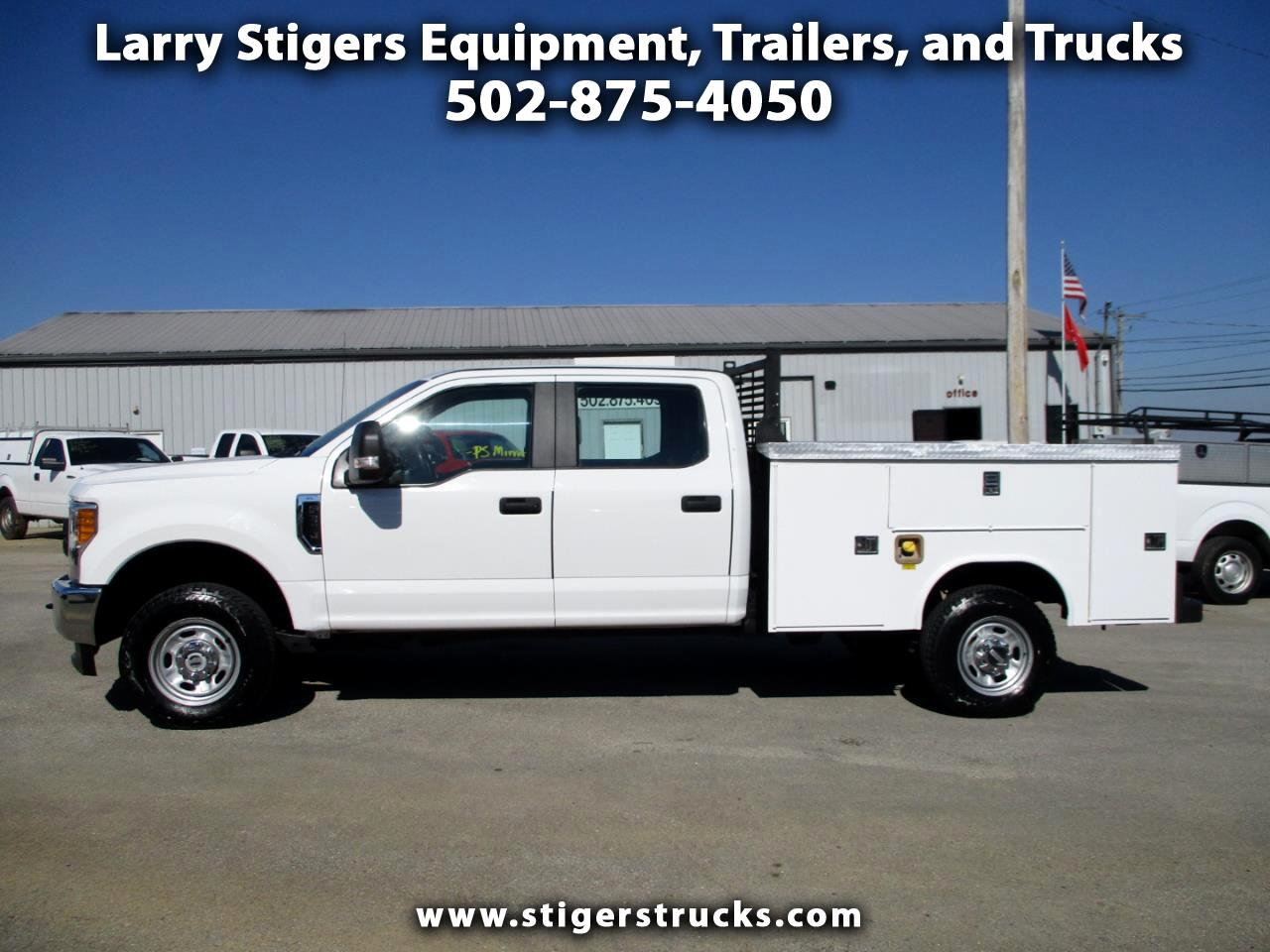 Ford F-350 SD XL Crew Cab Long Bed 4WD 2017