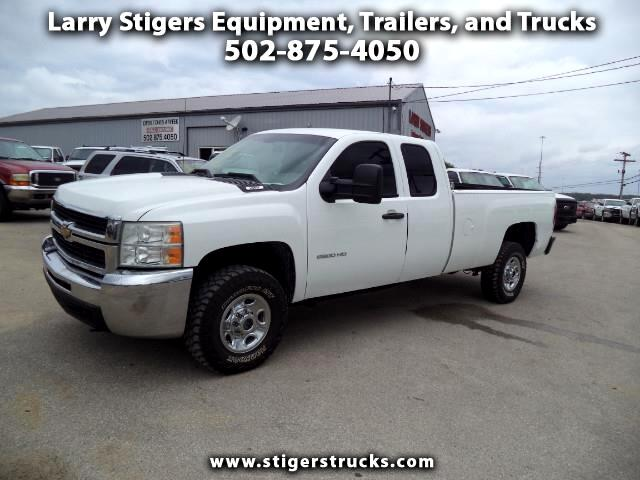 Chevrolet Silverado 2500HD Work Truck Ext. Cab Long Box 4WD 2010
